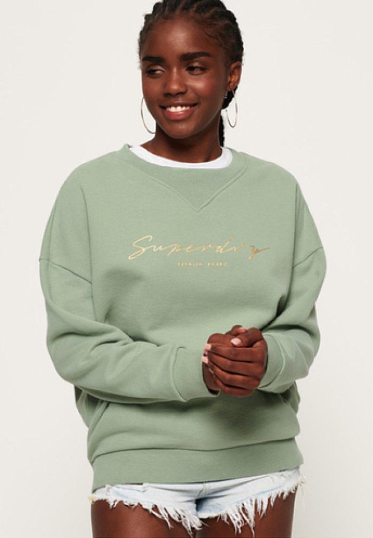 Superdry - Sweatshirt - green