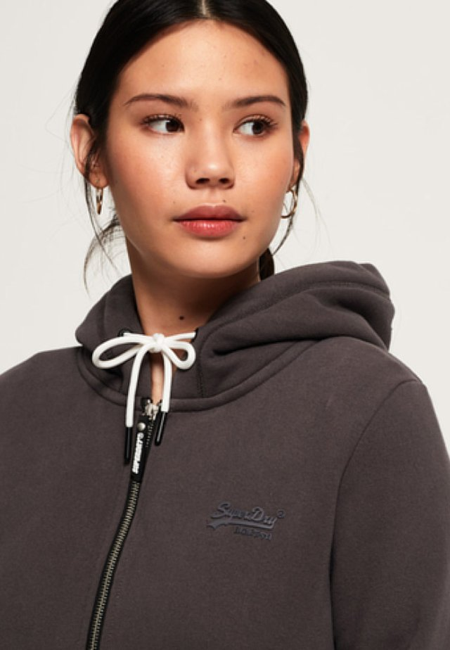ORANGE LABEL ELITE ZIPHOOD - Collegetakki - slate-gray