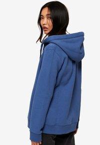 Superdry - ORANGE LABEL - Zip-up hoodie - blue - 2