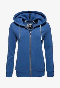 Superdry - ORANGE LABEL - Zip-up hoodie - blue - 4