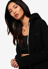 Superdry - ORANGE LABEL - Hoodie met rits - black - 4