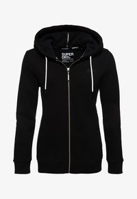 Superdry - ORANGE LABEL - Hoodie met rits - black - 5