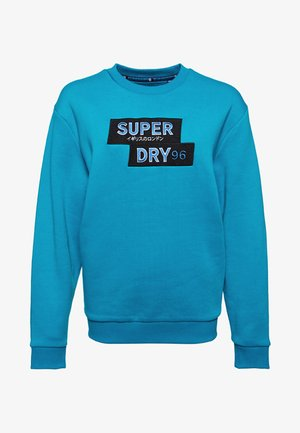 NINETIES APPLIQUE  - Sweater - blue