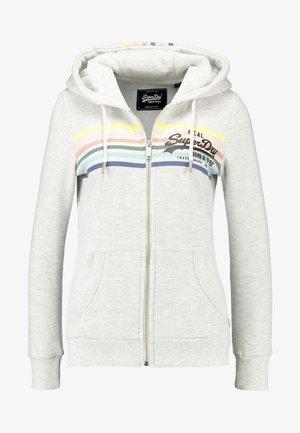 À CAPUCHE VINTAGE LOGO RODEO - Zip-up hoodie - ice marl