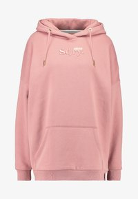 Superdry - ANA HOOD - Sweat à capuche - smoke rose - 4