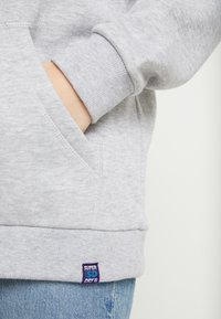 Superdry - NINETIES APPLIQUE HOOD - Huppari - mid grey marl - 5