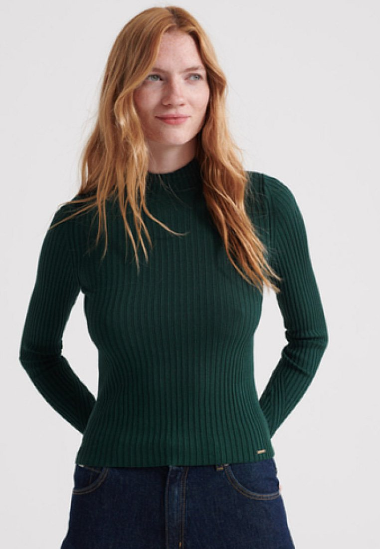 Superdry - Strickpullover - green