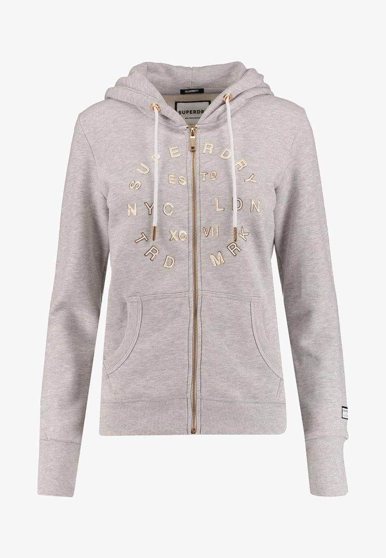Superdry - Zip-up hoodie - grey
