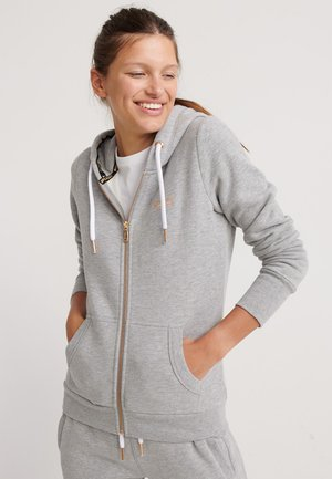 ORANGE LABEL  - Hoodie met rits - elite grey