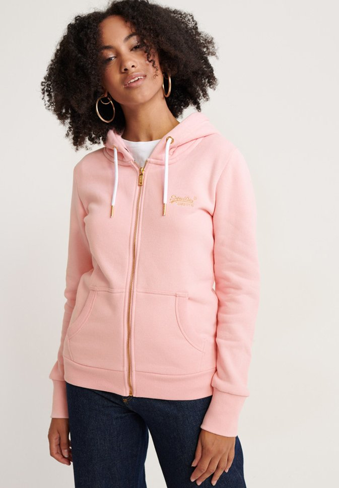 Superdry - ORANGE LABEL  - Sweatjacke - fade pink