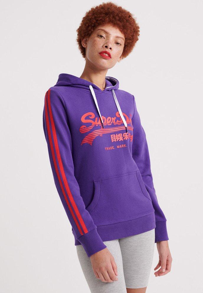 Superdry - Kapuzenpullover - winter purple