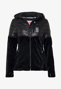 Superdry - STORM PANEL HYBRID - Summer jacket - black - 3