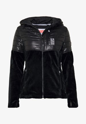 STORM PANEL HYBRID - Summer jacket - black