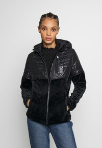 Superdry - STORM PANEL HYBRID - Summer jacket - black - 0