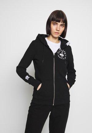 TRACK FIELD ZIPHOOD - Zip-up hoodie - black
