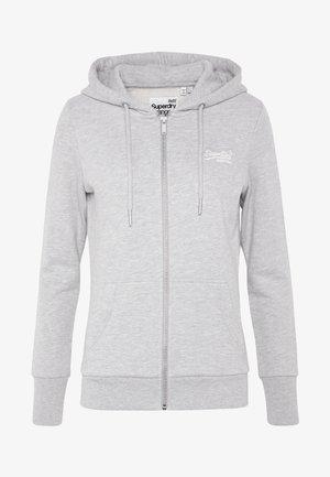 ZIPHOOD - Zip-up hoodie - grey marl
