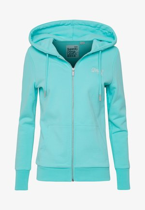 ZIPHOOD - veste en sweat zippée - aqua sky