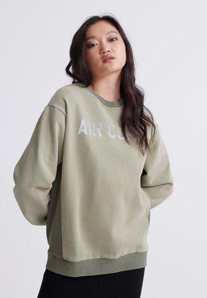 CAMO - Sweatshirt - oil green