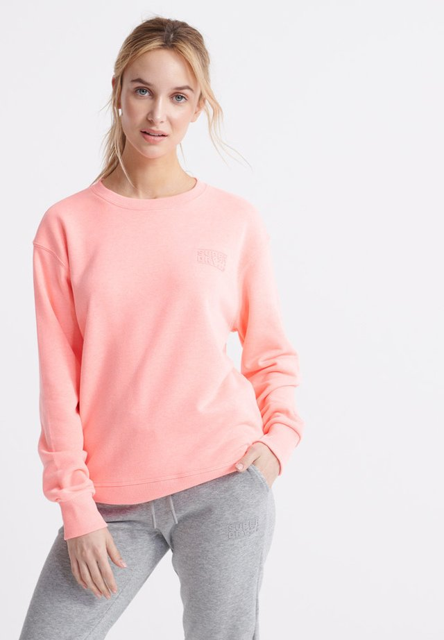 Sweater - phosphorescent coral