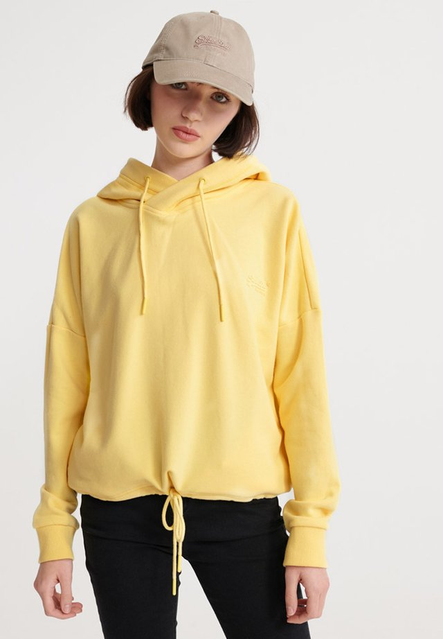ORANGE LABEL  - Hoodie - pale yellow