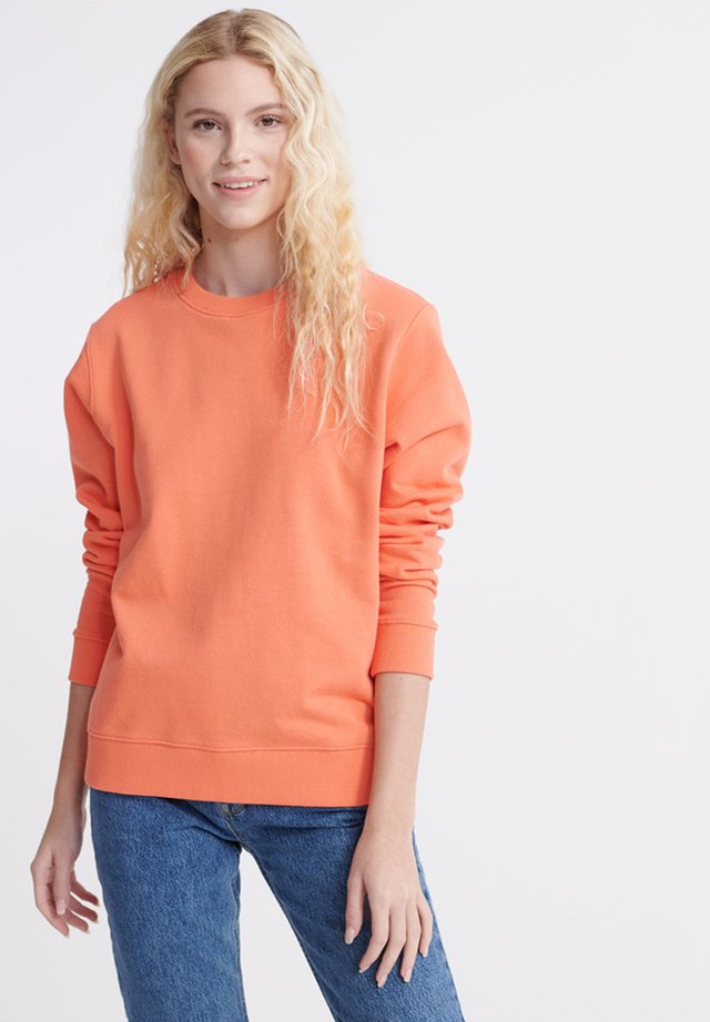 Sweater - deep coral