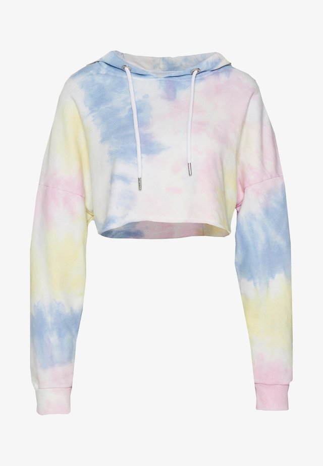 KEYSTYLE TIE DYE CROP HOOD  - Hoodie - multi colour