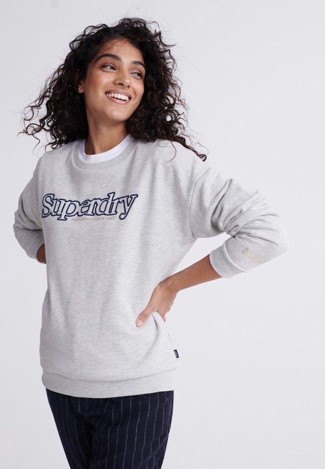APPLIQUE SERIF  - Sweater - light grey