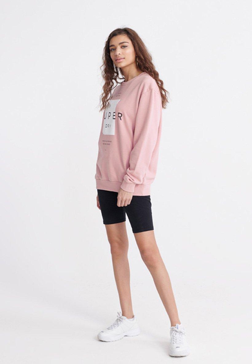 Superdry Bluza - soft pink