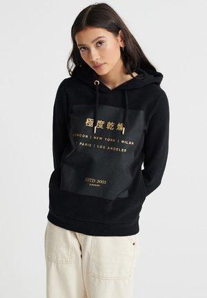 ESTABLISHED - Jersey con capucha - black