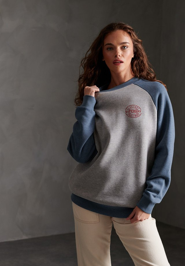 Sweater - grey marl/dry slate blue marl