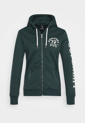 CLASSIC ZIPHOOD - Zip-up hoodie - enamel green