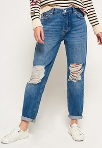 Superdry - HARPER - Jeans Relaxed Fit - hawaii blue - 0