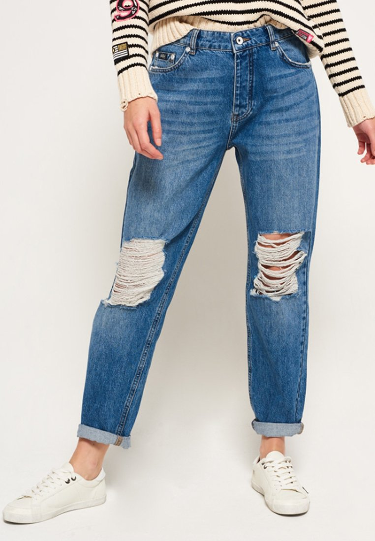 Superdry - HARPER - Jeans Relaxed Fit - hawaii blue