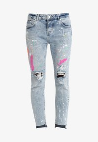 Superdry - RILEY GIRLFRIEND - Relaxed fit jeans - cove blue - 4