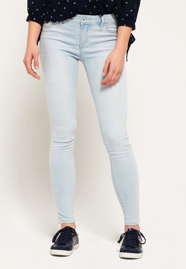 ALEXIA - Jeans Skinny Fit - miami blue