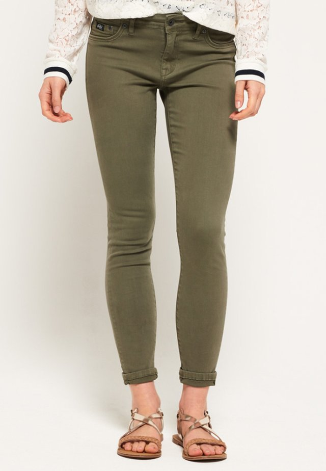 ALEXIA - Jeans Skinny Fit - summer khaki