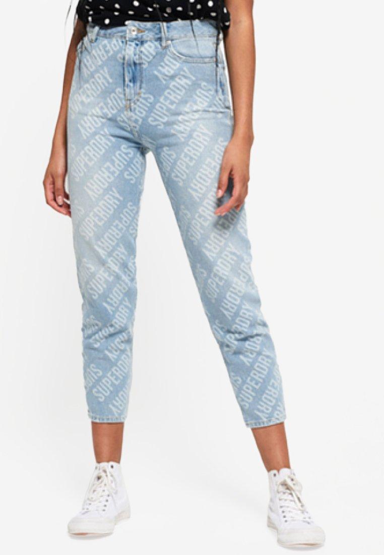 Slim Superdry RubyJeans Fit Blue Fl1JcK