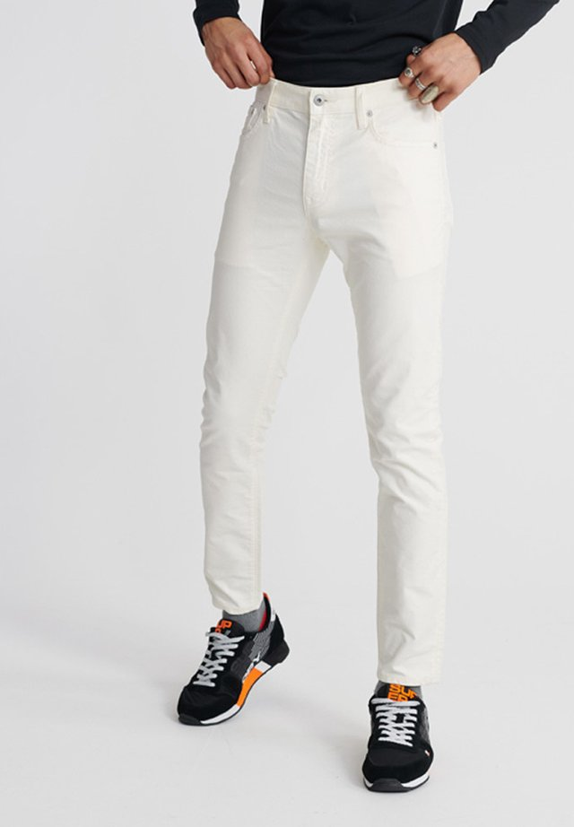 DOUBLE DYE - Slim fit jeans - tofu