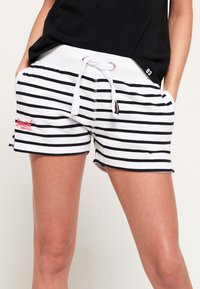 Superdry - SUN & SEA - Short - optic/eclipse navy - 3