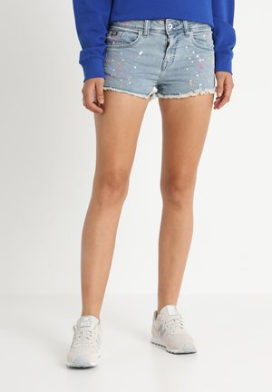 HOT - Shorts di jeans - indigo