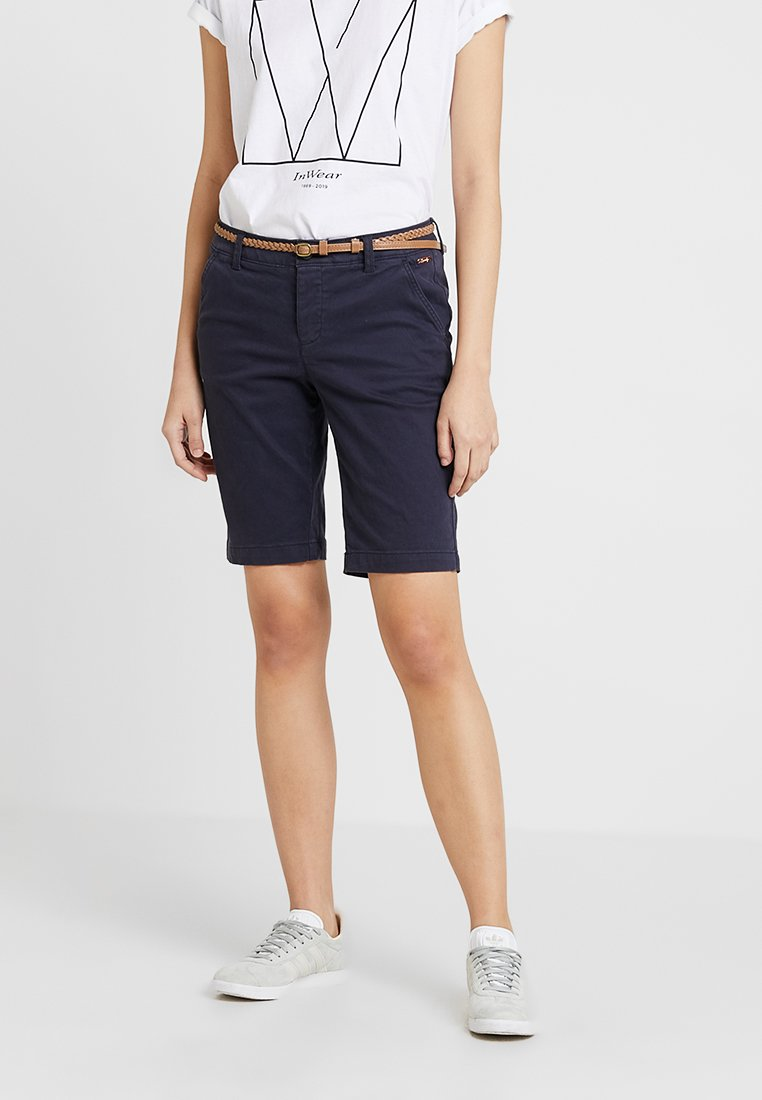 Superdry - CHINO CITY  - Shorts - midnight navy