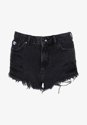 ELIZA - Szorty jeansowe - black