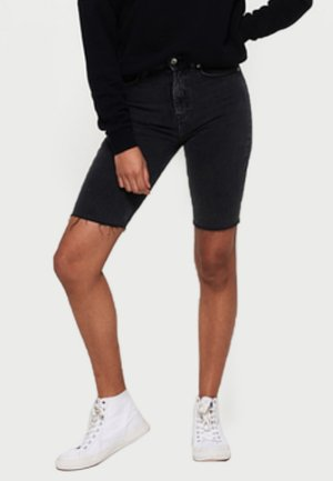 KARI - Shorts vaqueros - black