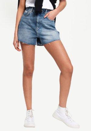 Jeans Short / cowboy shorts - duet blue