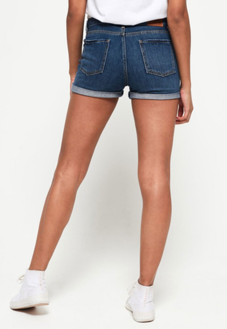Superdry - STEPH - Jeans Shorts - blue