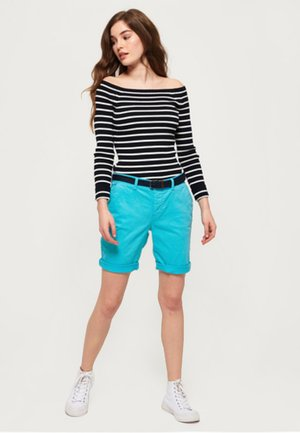 INTERNATIONAL CITY  - Shorts - lagoon blue