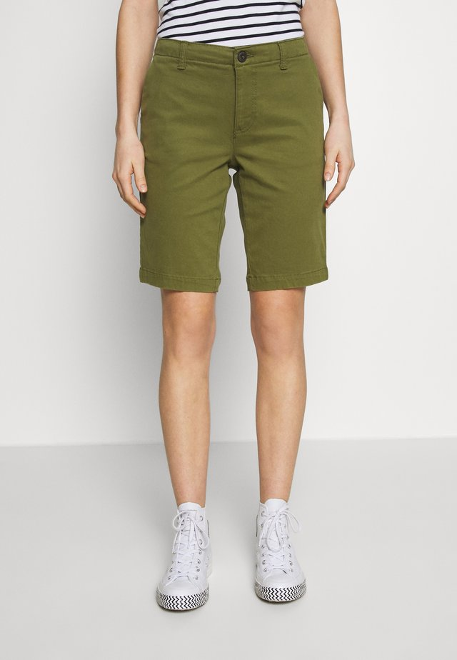 CITY CHINO SHORT - Shorts - capulet olive