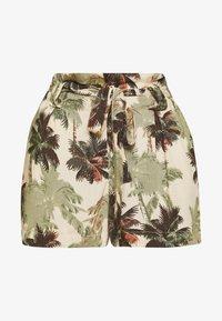 Superdry - DESERT STRIPE - Shorts - brown palm - 4