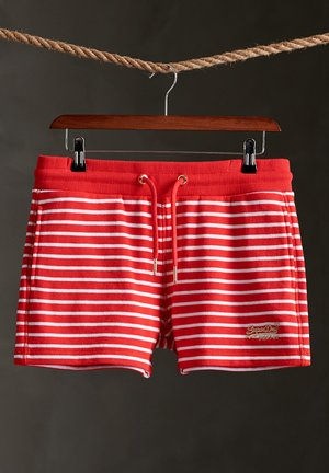 CLASSIC  - Shorts - red stripe