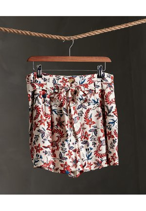 DESERT PRINTED - Shorts - white aop